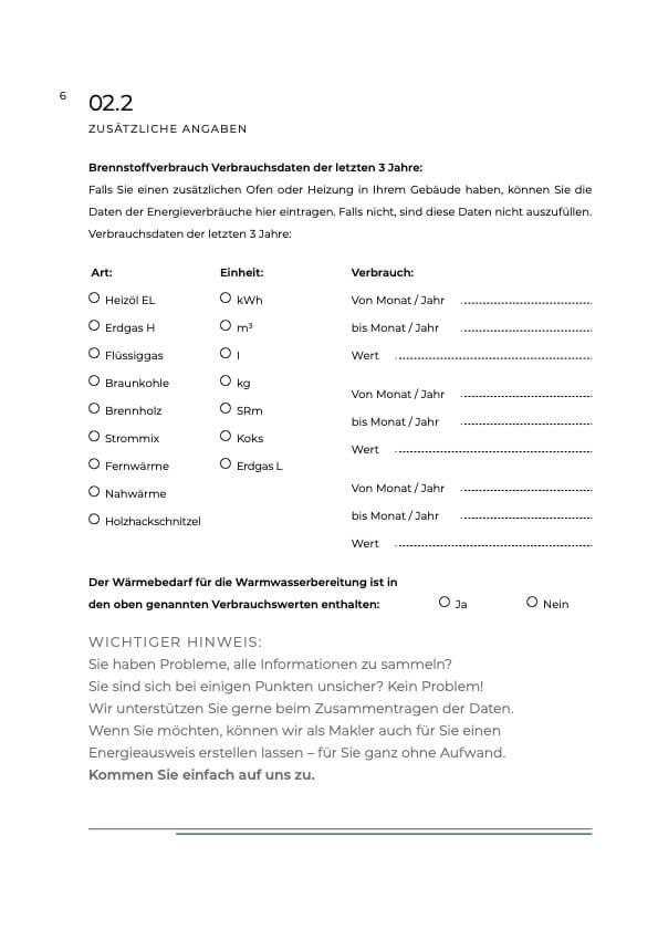 Checkliste Energieausweis Bild 1