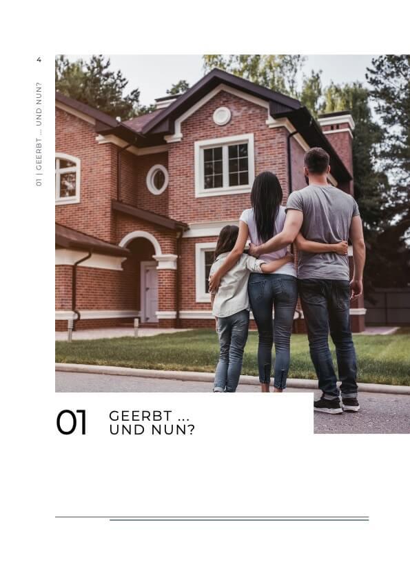 Immobilie geerbt Ratgeber Bild 2