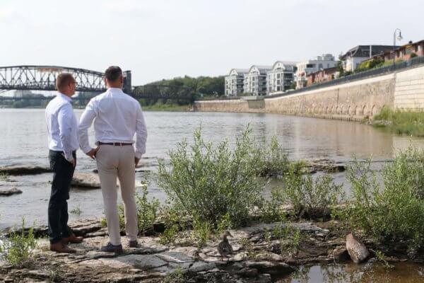 Immobilienmakler Magdeburg Sandro Wallisch und Sascha Stechow von Incasa Immobilien